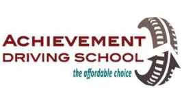 Logo of Achievement Driving School: Online State of the art driving simulator